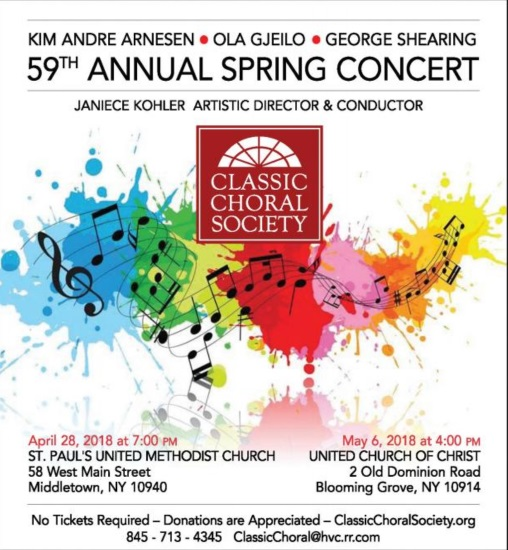 59th Annual CCS Spring Concert